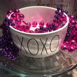 RAE DUNN dog bowl XOXO ❤️❤️super cute❤️❤️
